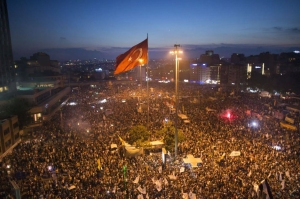 Taksim Gezi Park protests, June 15