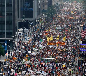 People's Climate March in New York, September 21, 2014