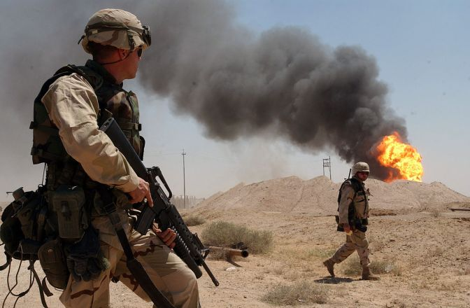 U.S. soldiers in Iraq, 2003