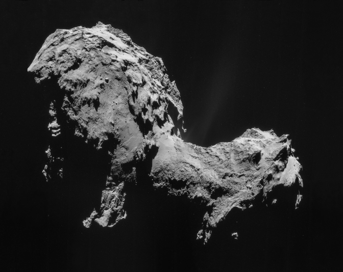 Philae Comet Lander Wakes Up