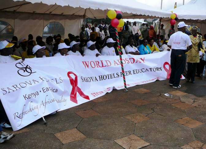 Progress Made Against AIDS