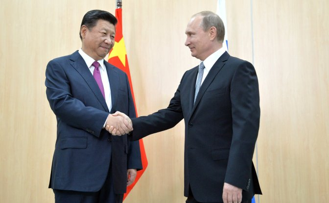 China Suggests Free Trade Zone with Russia