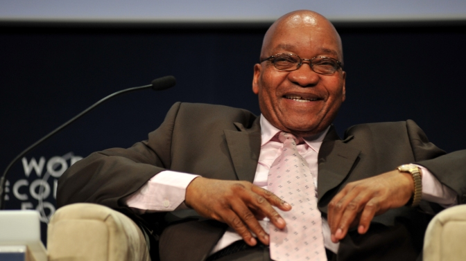 Continued Allegations of Corruption for South African President