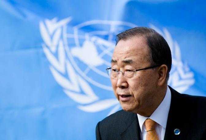 U.N. Secretary General Admits Extortion by Saudi Arabia