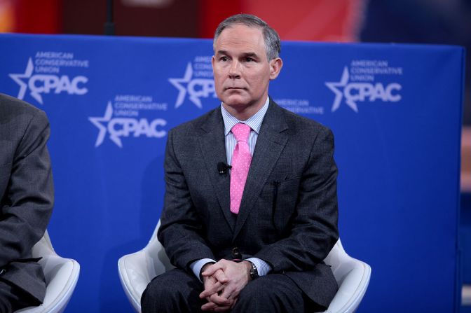 Top Scientists Condemn U.S. Environment Chief's Climate Change Denial